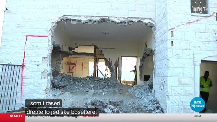 Skjermdump fra NRK Kveldsnytt 19. desember 2018.