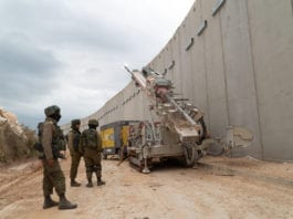 Siden Operation Northern Shield startet har Israel funnet tre tunneler som går fra Libanon og inn i Israel. (Foto: IDF)