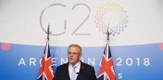 Den australske statsministeren Scott Morrison vil komme til å anerkjenne Jerusalem som Israels hovedstad. (Foto: Facebook)