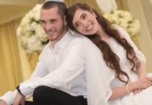 Ekteparet Amichai (t.v.) og Shira Ish-Ran ble skutt i søndagens angrep. Shira var gravid i sjuende måned. Onsdag døde babyen. (Foto: Privat)