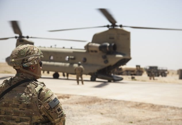 Om kort tid vil de siste amerikanske soldatene forlate Syria. Da står Israel alene i kampen mot Iran. (Foto: US Military)