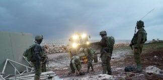 Israelske soldater leter etter Hizbollah-tuneller langs grensen mot Libanon den 4. desember. (Foto: Det israelske forsvaret)