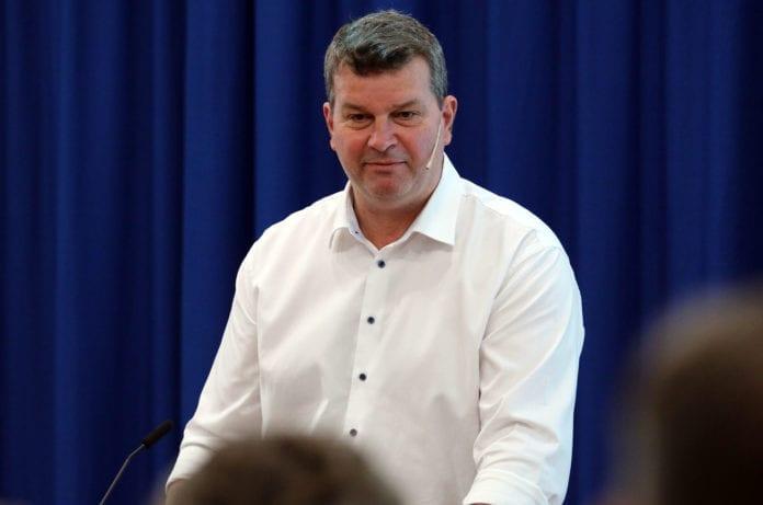 LO-leder Hans-Christian Gabrielsen. (Foto: Øyvinn Myge/ASD, flickr)