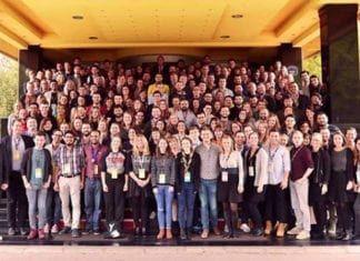 Delegatene på generalforsamlingen til European Youth Forum i november 2018. (Foto: youth_forum, Instagram)