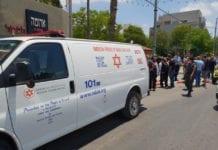 En 14 år gammel jente ble knivstukket i Jerusalem mens hun ventet på skolebussen. (Foto: Magen David Adom)