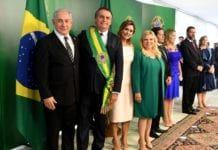 Benjamin Netanyahu var til stede under innsettelsen av Brasils president Jair Bolsonaro. (Foto: Avi Ohayon/Flickr)