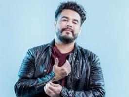 Den internasjonale stjernen Chris Medina er nå bosatt i Norge. Han håper å representere Norge i Eurovision. (Foto: NRK)