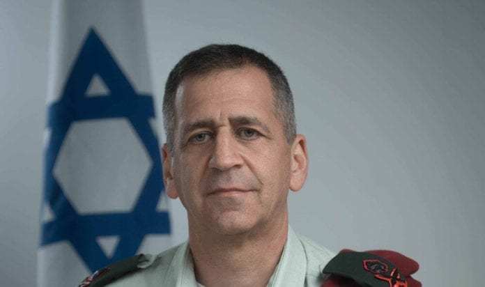 IDF-sjef Aviv Kochavi sier terrorgruppen Hizbollah ønsker å invadere Israel.