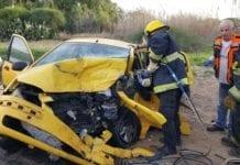 315 personer omkom i trafikken i Israel i 2018. En nedgang på 13% i forhold til året før. (Foto: Brann- og redningstjenesten)