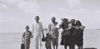Jemenittiske jøder på flukt fra Jemen. De fleste flyktningene endte opp i Israel. (Foto: Israeli National Photo Archive)