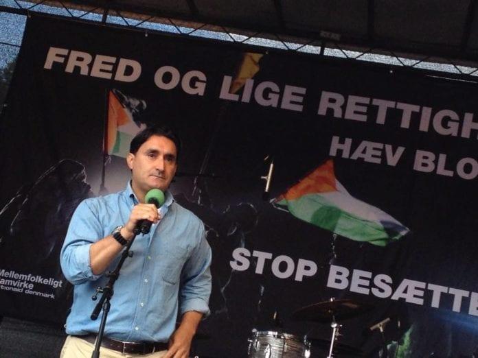 Fathi El-Abed, leder for Dansk Palæstinensisk Venskabsforening. (Foto: Privat/ Facebook)