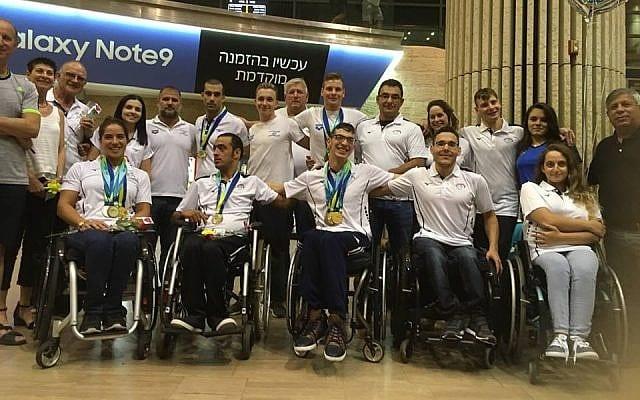 De israelske paralympics-svømmerne blir nektet å delta i sommerens VM i Malaysia. (Foto: Israel Paralympic Association)