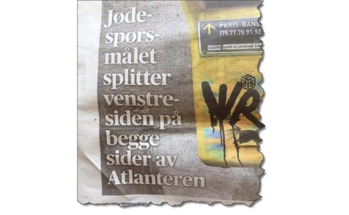 Faksmile fra Aftenposten 13. februar 2019.