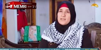 Sønnen hennes forsøkte å drepe israelske politifolk. Moren er stolt over sønnens handlinger. (Foto: Skjermdump)