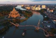 Byen Kuching taper millioner av kroner i inntekter etter at Malaysia mistet svømme-VM. (Foto: Wikipedia)