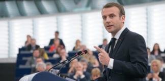 Den franske presidenten Emmanuel Macron er sjokkert over antisemittismen i landet sitt. Nå tar han grep. (Foto: EU-parlamentet)