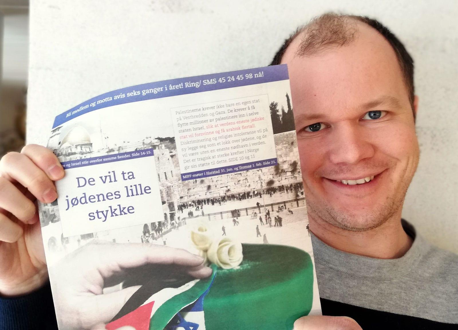 Årsmøte og foredrag av Conrad Myrland i MIFF Vestfold: Hvordan jødene ble fordrevet fra arabiske land