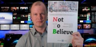 Conrad Myrland presenterer Not To Believe - en kritisk rapport om NTBs Israel-dekning.