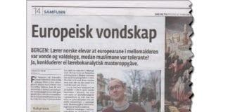 Faksmile fra Dag og Tid 22. februar 2019.