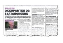 Faksmile fra Dagbladet 12. mars 2019.