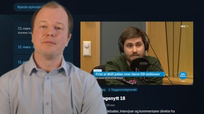Skjermdump fra MIFFs direktesending 13. mars 2019.