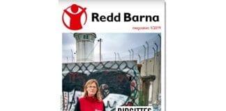 Faksmile av forsiden til Redd Barna-magasinet 1/2019.