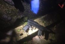 To maskingevær av typen Carlo ble oppdaget da tolv mistenkte terrorister ble pågrepet på Vestbredden. (Foto: IDF)