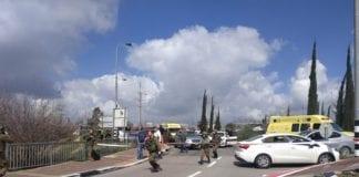 Flere personer ble skutt av en palestinsk terrorist ved et veikryss utenfor Ariel, nord for Jerusalem, søndag 17. mars.