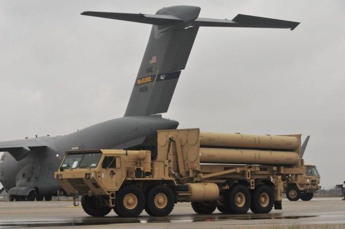 Her er det amerikanske rakettforsvaret THAAD i Israel. Systemet skal kunne utplasseres raskt verden over. (Foto: US Army)