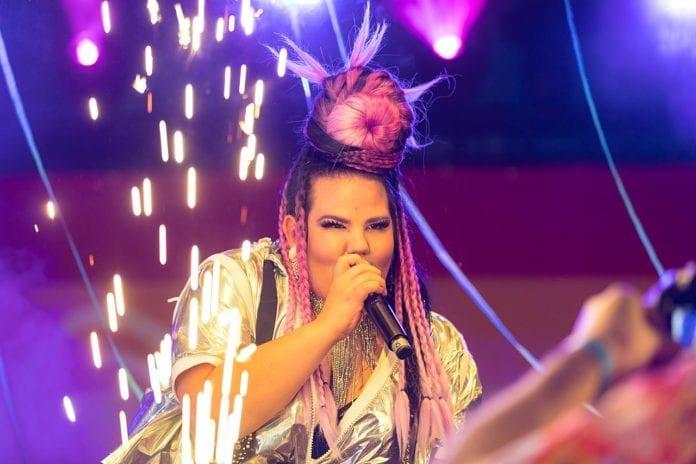 Israelske Netta Barzilai mener dem som oppfordrer til boikott av Eurovision i Israel sprer mørke. (Foto: Wikimedia Commons)