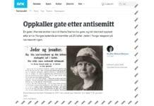 Skjermdump av artikkel publisert på Nrk.no 4. april 2019.