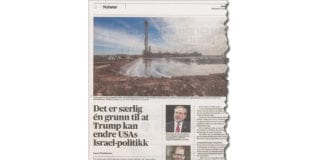 Faksmile fra Aftenposten 31. mars 2019.