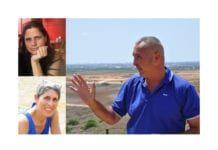 På MIFFs Israelkonferanse kan du høre Orit Zadikevitch (oppe til venstre), Anat Maoz og Grisha Yakubovich fortelle om trusselen fra Hamas-regimet på Gaza-stripen, og hvordan hverdagen oppleves for israelere i området. (Foto: Privat/ Kjetil Ravn Hansen, MIFF)