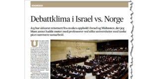 Faksmile fra side 22 i Fædrelandsvennen 2. mai 2019.