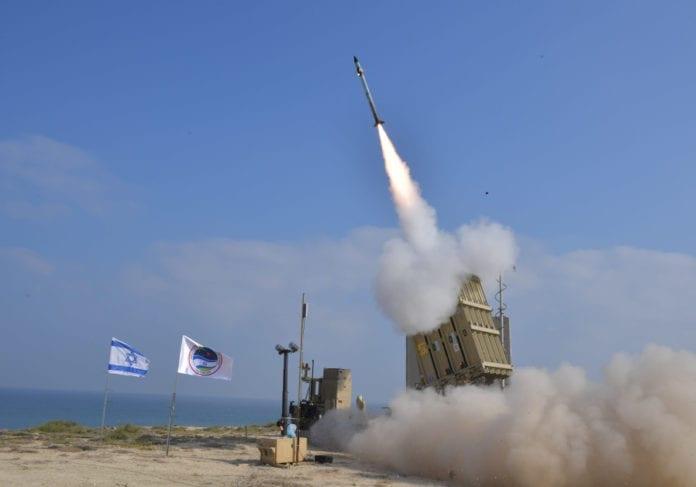 Rakettforsvaret Iron Dome klarte å stanse 86% av rakettene som ble skutt mot den israelske sivilbefolkning. (Foto: IDF)