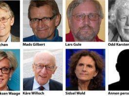 Hvem av dem har gjort mest for å skape det falske bildet av Israel i Norge?