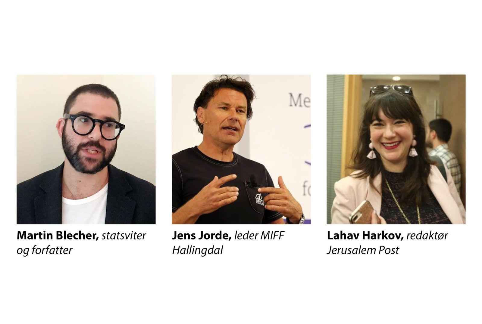 MIFF Forum i Oslo - Lahav Harkov, Martin Blecher, Jens Jorde med flere
