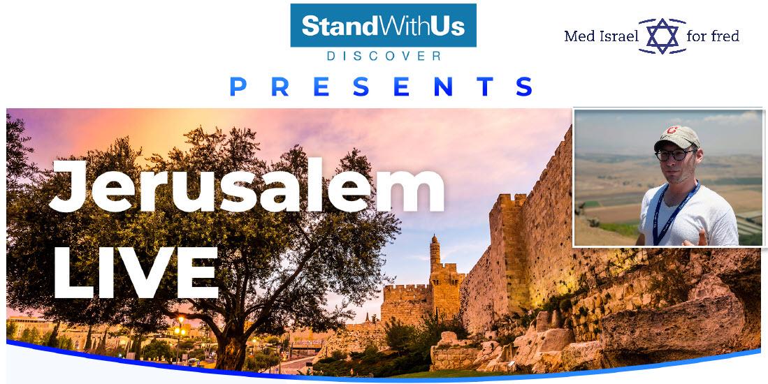 Bli med på eksklusiv direktetur i Jerusalem 9. august