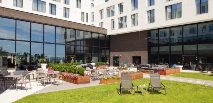Israelkonferansen 2021 blir avholdt på Scandic Fornebu. (Foto: Scandic Fornebu)