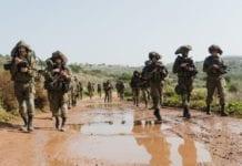 Golanibrigaden under en øvelse i det nordlige Israel. (Foto: IDF)