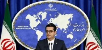 Talsmann for det iranske utenriksdepartementet Seyed Abbas Mousavi har advart om en voldsom iransk reaksjon på en eksplosjon ved atomanlegget i Natanz. (Foto: @Allio_De_Corato)
