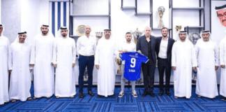 Dia Saba er en israelsk araber som nå skriver historie som første israelske fotballer i en arabisk klubb. Al-Nasr fotballklubb i Dubai i Emiratene. (Foto: @Levyninho)