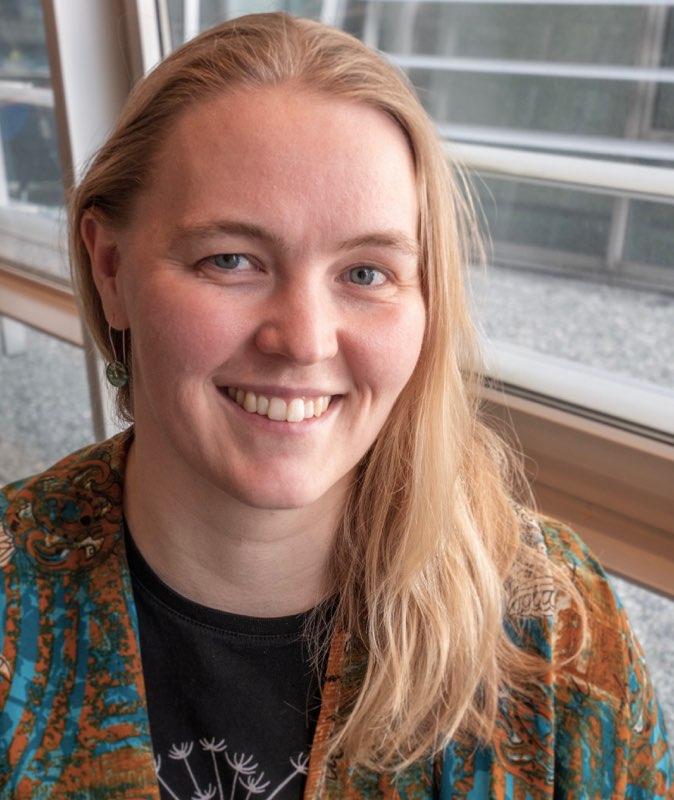 Sara Fredfeldt Stadager er museumsinspektør ved Dansk Jødisk Museum. (Foto: privat)