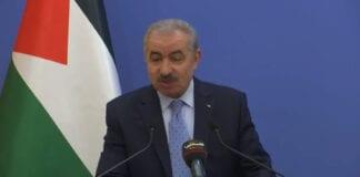 Statsminister Mohammad Shtayyeh