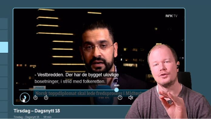 Conrad Myrland Yama Wolasmal NRK faktasjekk