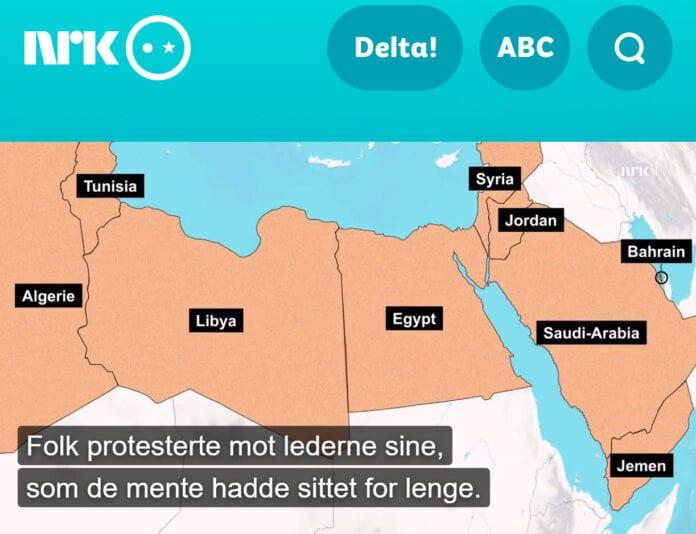 Kart NRK Supernytt