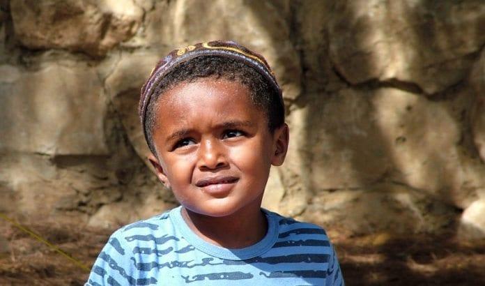 Etiopisk Gutt
